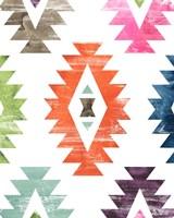 Aztec Brights IV Framed Print