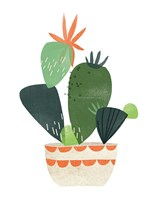 Happy Plants IV Framed Print
