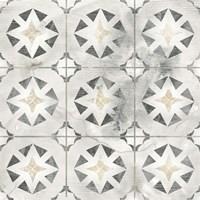 Marble Tile Design II Framed Print