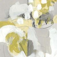 Citron Mist III Framed Print