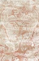 Garnet Weft I Framed Print