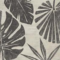 Tribal Palms II Framed Print