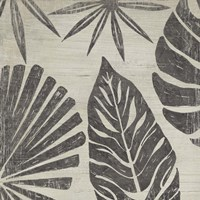 Tribal Palms III Framed Print