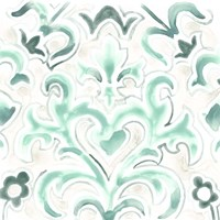 Bohemian Textile VIII Framed Print