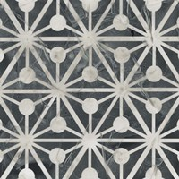 Neutral Tile Collection IX Framed Print