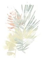 Pastel Tropics I Framed Print