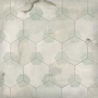 Hexagon Tile III Fine Art Print