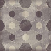Hexagon Tile IV Fine Art Print