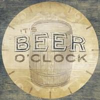 Beverage O'Clock III Framed Print
