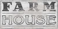 Vintage Farmhouse Sign I Framed Print