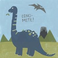 Dino-mite II Fine Art Print