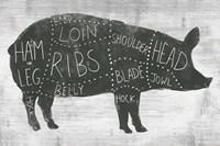 Farmhouse Butcher I Fine Art Print