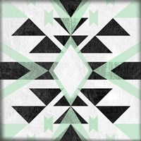 Modern Aztec Motif I Fine Art Print