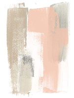 Blush Abstract VI Fine Art Print