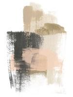 Blush Abstract IX Framed Print
