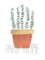 Punny Plant IV Framed Print