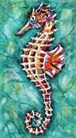 Radiant Seahorse II Fine Art Print