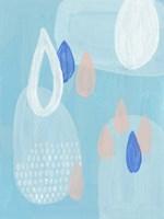 Azure I Framed Print