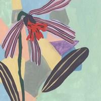 Corner Flower I Framed Print