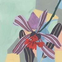Corner Flower II Framed Print