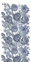 Ice Blue Botanical I Framed Print