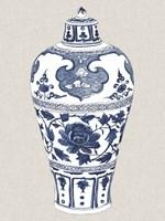 Antique Chinese Vase I Framed Print