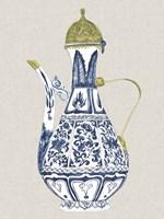 Antique Chinese Vase II Framed Print