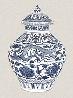 Antique Chinese Vase III Fine Art Print