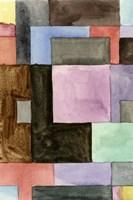 Primary Blocks IV Framed Print
