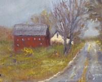 Back Road Barn I Fine Art Print