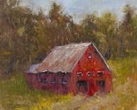 Back Road Barn II Fine Art Print