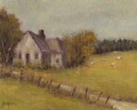 Cottage Meadow II Fine Art Print
