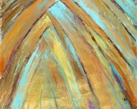Crazy Fronds Diptych II Fine Art Print