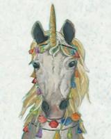Fiesta Unicorn I Framed Print