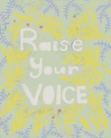 Her Voice I Framed Print