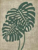 Vintage Greenery I Framed Print