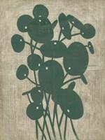 Vintage Greenery IV Framed Print