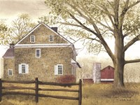 Bucks County Homestead Fine Art Print