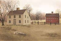 New England Saltbox Fine Art Print