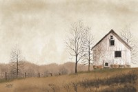 Lonely Barn Fine Art Print