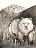Find My Soul Bear Fine Art Print