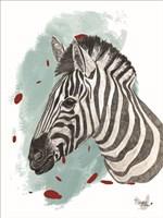 Safari Zebra Fine Art Print