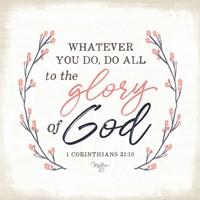 Glory of God Fine Art Print