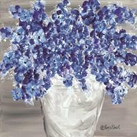 Blooming Blues Fine Art Print