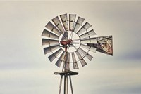 Windmill Close-Up Fine Art Print