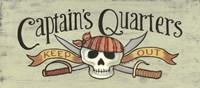 Captain's Quarters Fine Art Print