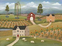 Valley Flower Farms Fine Art Print