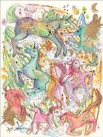 Unicorn Dance Fine Art Print