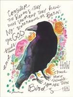 Consider the Ravens Fine Art Print