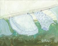 Sun-Bleached Linens Fine Art Print
